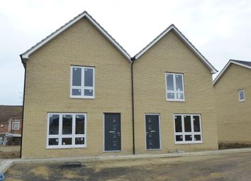 Thumbnail 3 bed semi-detached house for sale in De-Havilland Road, Wisbech