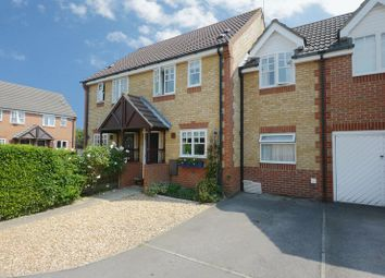 Thumbnail 3 bed semi-detached house for sale in Evenlode Drive, Didcot
