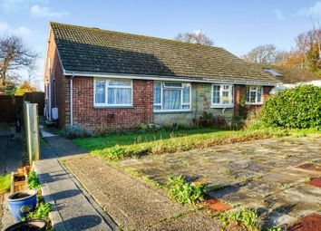 Thumbnail 2 bed semi-detached bungalow for sale in Greenways Close, Cowes