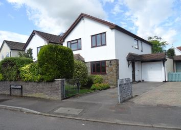 Thumbnail 3 bed detached house for sale in Heol Gam, Bridgend