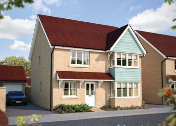 "Thumbnail 4 bed detached house for sale in ""The Canterbury"" at Hill Farm Close, Newmarket Road, Cringleford, Norwich"
