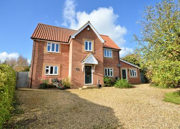 Thumbnail 5 bedroom detached house for sale in The Grange, North Pickenham, Swaffham