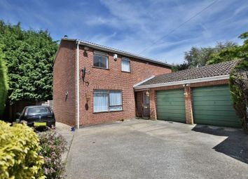Thumbnail 4 bed detached house for sale in Norwich Close, Washingborough, Lincoln