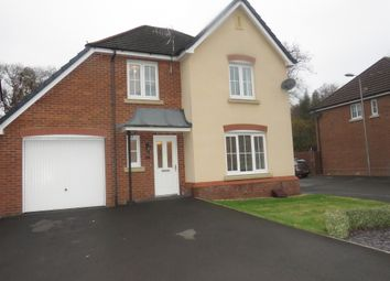 Thumbnail 4 bed detached house for sale in Cadwal Court, Llantwit Fardre, Pontypridd