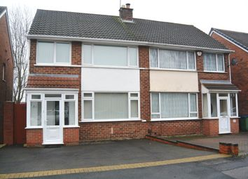 Thumbnail 3 bed semi-detached house for sale in Leslie Rise, Tividale