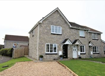 Thumbnail 3 bed semi-detached house for sale in Heol Ger-Y-Felin, Llantwit Major