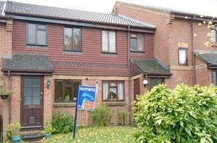 Thumbnail 2 bed terraced house to rent in Long Copse Chase, Chineham, Basingstoke, Hampshire