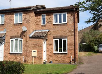Thumbnail 1 bed semi-detached house for sale in Linnet Close, Wellingborough