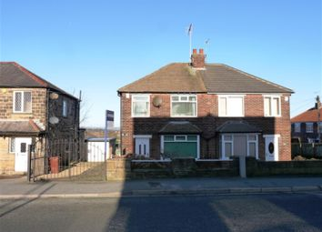 Thumbnail 2 bed semi-detached house to rent in Cemetery Road, Pudsey