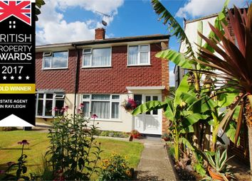Thumbnail 3 bed semi-detached house for sale in Ringwood Drive, Attention Time Buyers, Eastwood, Essex