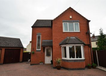 Thumbnail 3 bed detached house for sale in Mercia Drive, Willington, Derby