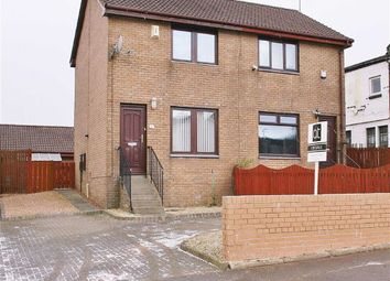 Thumbnail 2 bed semi-detached house for sale in Lochinvar Place, Bonnybridge, Stirlingshire