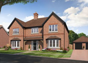 Thumbnail 5 bed detached house for sale in The Rudgwick, Amlets Place, Cranleigh
