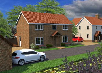 Thumbnail 4 bed detached house for sale in The Paddocks, Litle Hill, Great Bricett, Ipswich, Suffolk