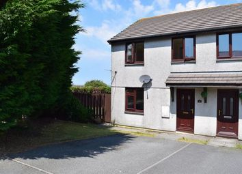 Thumbnail 3 bed semi-detached house for sale in Knights Way, Mount Ambrose, Redruth