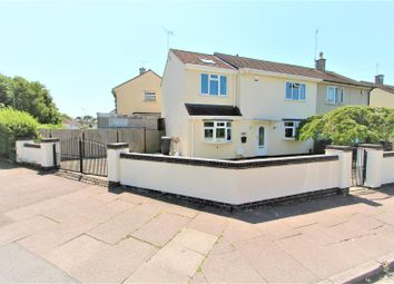 Thumbnail 3 bed semi-detached house for sale in Tolcarne Road, Humberstone, Leicester