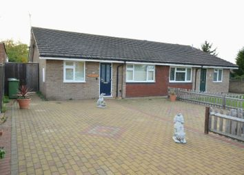 Thumbnail 2 bed semi-detached house for sale in Vernon Close, West Ewell, Epsom