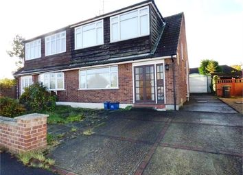 Thumbnail 4 bed semi-detached house for sale in Larchwood Close, Leigh On Sea