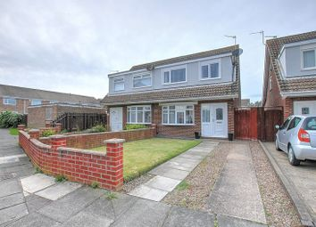 Thumbnail 3 bed semi-detached house to rent in Appledore Road, South Beach, Blyth