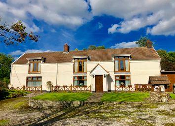 Thumbnail 3 bed detached house for sale in Mynydd Gelliwastad Road, Pantlasau, Swansea