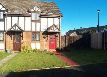 Thumbnail 2 bedroom end terrace house for sale in Chantry Court, Ravenhill, Swansea