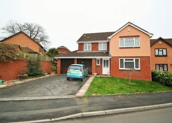 Thumbnail 4 bed detached house for sale in Honeylands Way, Exeter