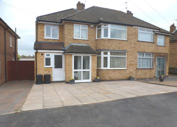 Thumbnail 4 bed semi-detached house for sale in Eastway Road, Wigston, Leicester