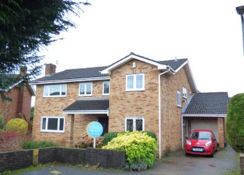 Thumbnail 5 bed detached house for sale in Larkhill Close, Bulwark, Chepstow