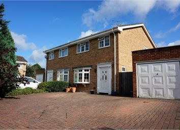 Thumbnail 3 bed semi-detached house for sale in Pennine Way, Farnborough