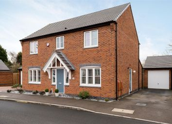 Thumbnail 4 bed detached house for sale in Frezenberg Close, Burbage, Hinckley