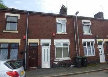 Thumbnail 2 bed terraced house for sale in Woodall Street, Hanley, Stoke-On-Trent