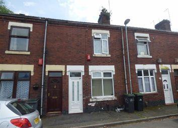 Thumbnail 2 bedroom terraced house for sale in Woodall Street, Hanley, Stoke-On-Trent