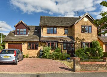 Thumbnail 5 bed detached house for sale in College Road, College Town, Sandhurst