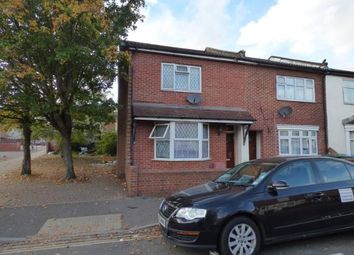 Thumbnail 3 bedroom end terrace house for sale in Northumberland Road, Southampton