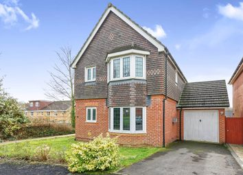 Thumbnail 3 bedroom detached house for sale in Rycroft Meadow, Beggarwood, Basingstoke
