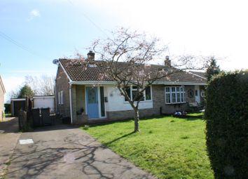 Thumbnail 2 bed semi-detached bungalow for sale in Capel Street, Capel-Le-Ferne, Folkestone Kent