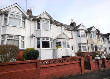Thumbnail 3 bed terraced house for sale in Clifton Road, Paignton, Devon