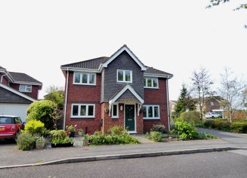 Thumbnail 4 bed detached house for sale in Tawny Owl Close, Stubbington, Fareham