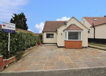 Thumbnail 3 bed detached bungalow for sale in New Road, South Darenth, Dartford