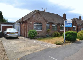Thumbnail 2 bed semi-detached bungalow for sale in Stoneycroft Road, Earl Shilton, Leicester