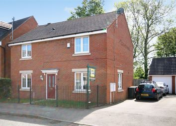 Thumbnail 4 bed detached house for sale in Fox Hedge Way, Sharnbrook, Bedford