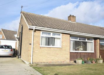 Thumbnail 2 bed semi-detached bungalow for sale in Roman Way, Newby, Scarborough, North Yorkshire