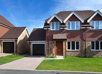 Thumbnail 2 bed semi-detached house for sale in Ashington, West Sussex