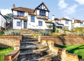 Thumbnail 3 bed detached house for sale in Riddlesdown Avenue, Purley, Surrey