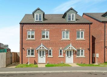 Thumbnail 3 bed semi-detached house for sale in Nickersons Walk, Caistor, Market Rasen