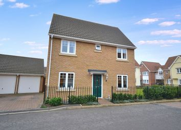 Thumbnail 3 bed detached house for sale in Birch Road, Dunmow