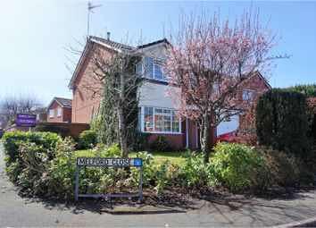 Thumbnail 4 bed detached house for sale in Melford Close, Crewe