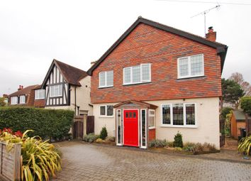 Thumbnail 4 bed detached house for sale in Lansdowne Road, West Ewell