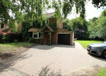 Thumbnail 3 bed semi-detached house for sale in School Road, Buckenham, Norwich, Norfolk