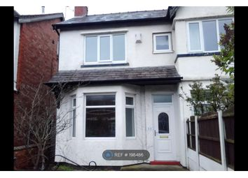 Thumbnail 2 bed semi-detached house to rent in Bengarth Rd., Southport